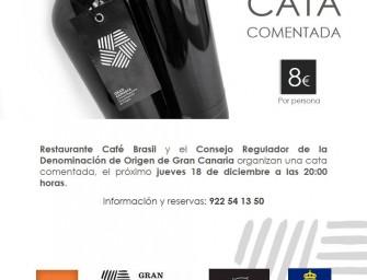 Cata comentada en Café Brasil