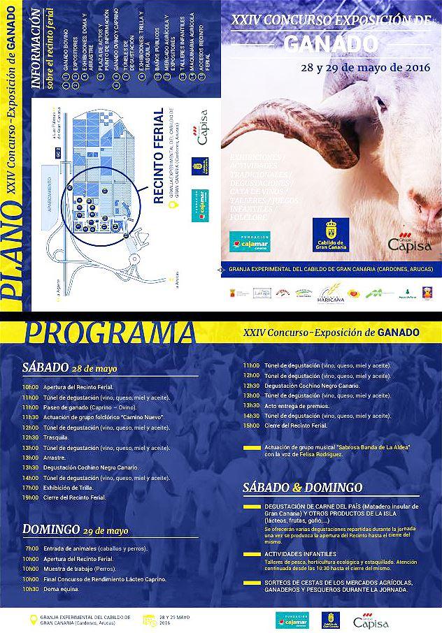 XXIV Concurso Exposicion de Ganado-`programa