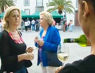 Televisión Canaria en la Noche de los Vinos de Vegueta