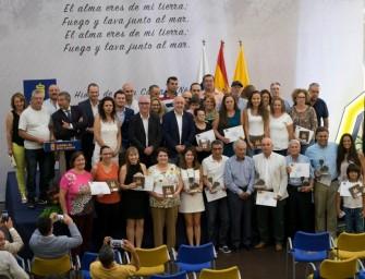 Entrega de Premios XXI Cata Insular de Vinos de Gran Canaria