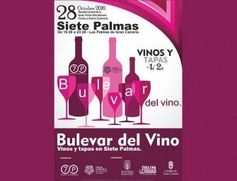 Bulevar del Vino en Siete Palmas
