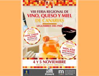 VIII Feria Regional del Vino, Queso y Miel de Canarias