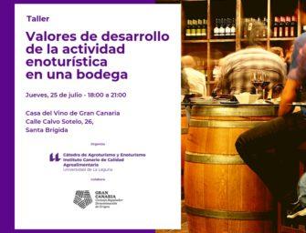 Enoturismo en Gran Canaria con la Universidad de La Laguna
