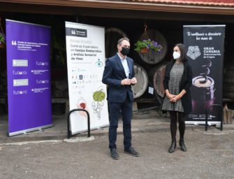 La DO de Vinos de Gran Canaria y la ULL presentan su formación en Gran Canaria